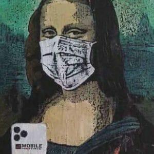 COVID 19 Mona Lisa