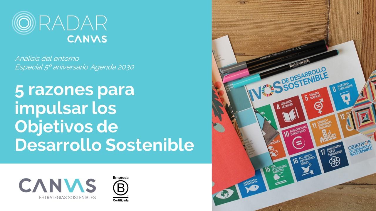 aniversario Objetivos de Desarrollo Sostenible
